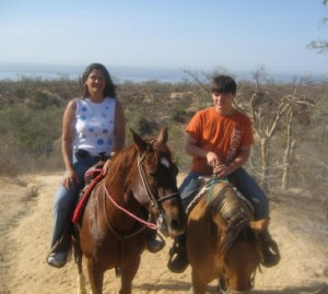 Riding Horses in Cabo San Lucas, Mexico