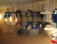 Tack Room for Horses